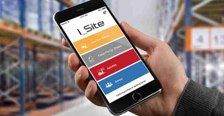 I_Site fleet management. Monitoraggio della flotta carrelli