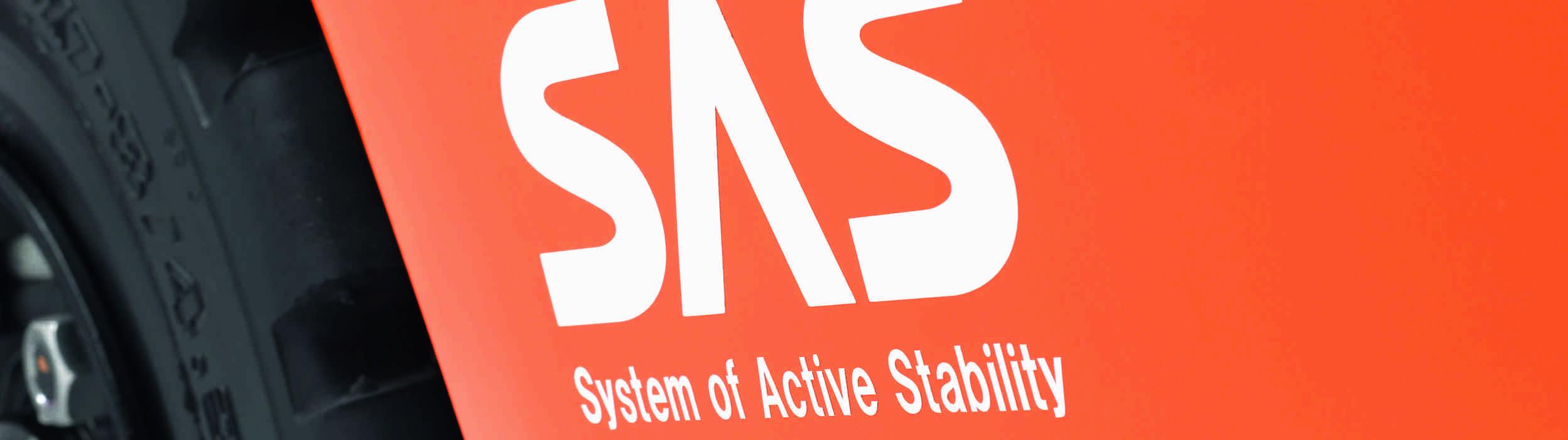 Toyota SAS: tecnologia antiribaltamento.