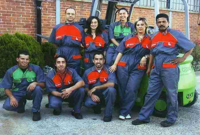 il team della sede di Orbassano
